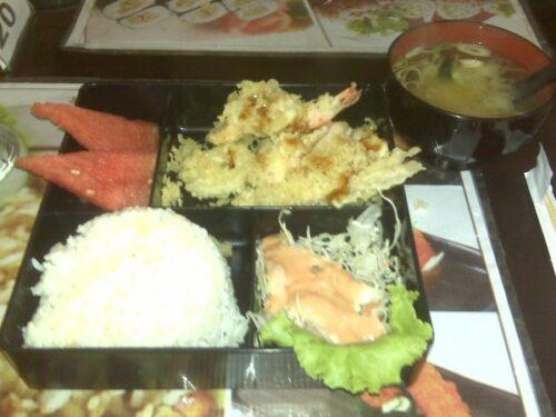 Bento Paket Makanan Jepang