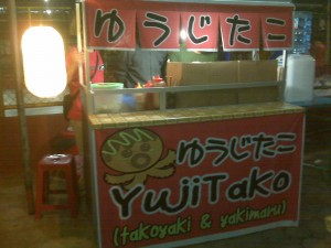 Takoyaki & Yakimaru di Yujitako