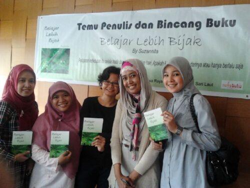 Temu Penulis dan Bincang Buku Belajar Lebih BIjak