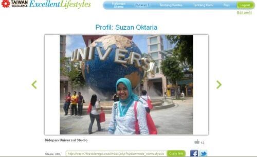Profil Suzan IT Travelers Go