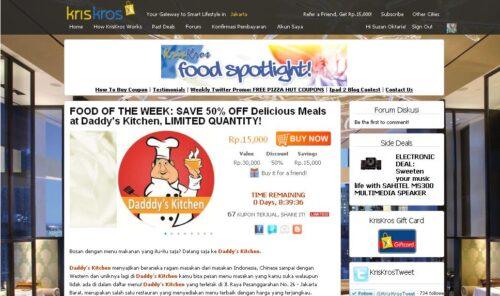, Deal Spesial dari KrisKros.com, Jurnal Suzannita