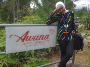Pose di Awana Genting Highlands