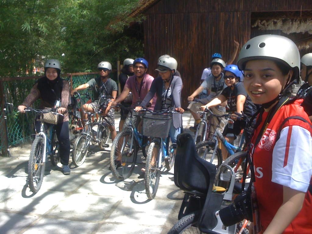 , #MSS2011 Jelajah Keindahan Dengan Bicycle Tour, Jurnal Suzannita