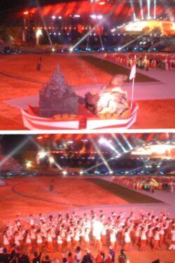 Opening Sea Games XXVI Spektakuler