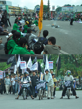 Demo Tolak Kenaikan Harga BBM