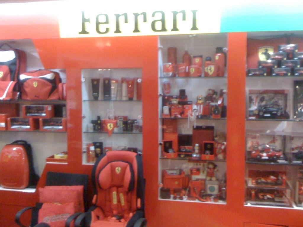 Tersesat di Dunia Ferrari