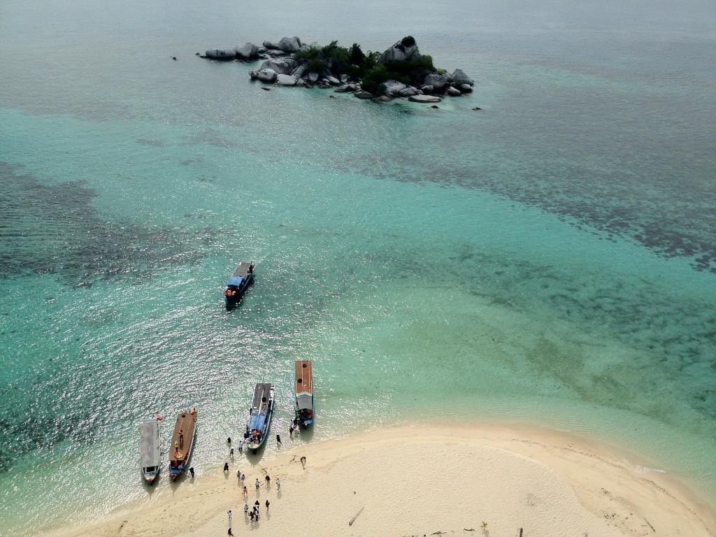 Memanjakan Mata di Belitung