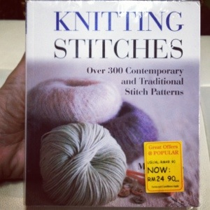 , Let's read Knitting Stitches, Jurnal Suzannita