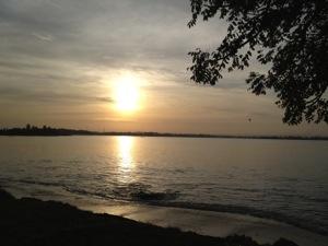 Sunrise di Kalianda
