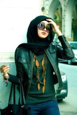 Fashion Dian pelangi Jaket Kulit