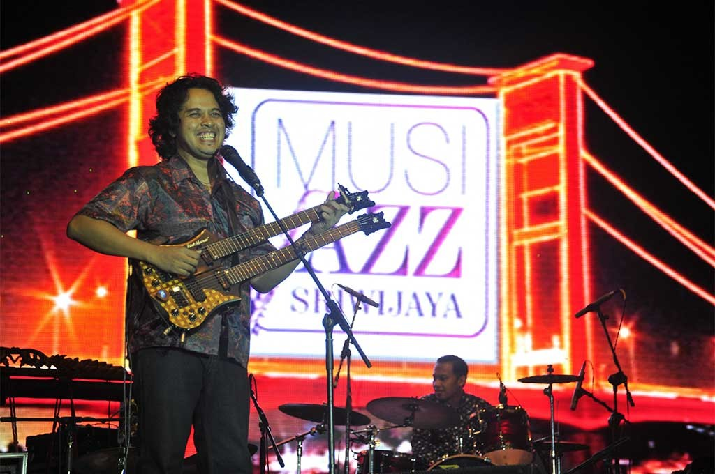 Balawan Musi Jazz Sriwijaya 2015
