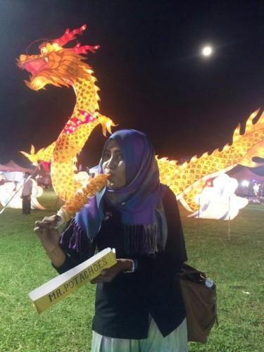 Gemerlap Festival Lampion Suzhou di Palembang