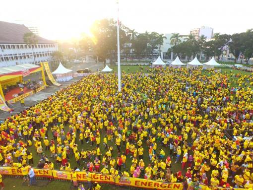 Energen Ayo Sarapan Sehat, Event Energen Ayo Sarapan Sehat Sebelum Jam 9 di Palembang, Jurnal Suzannita