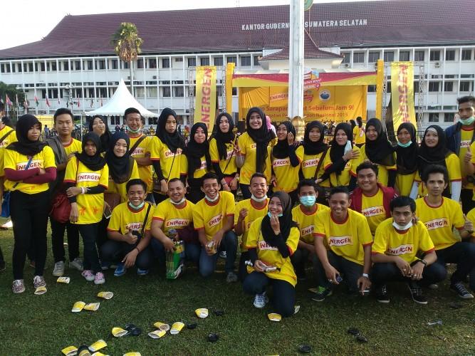Event Energen Ayo Sarapan Sehat Sebelum Jam 9 di Palembang