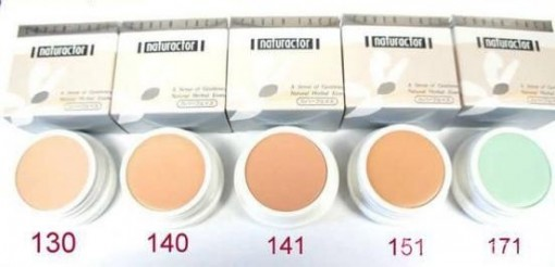 Naturactor Cover Face Shades 2