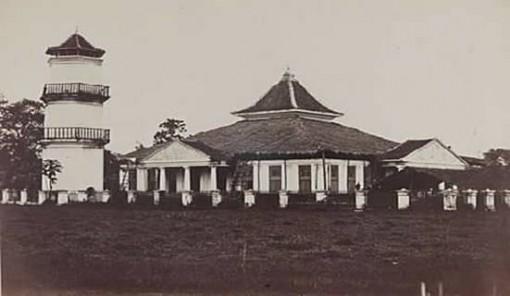 masjid agung palembang lama