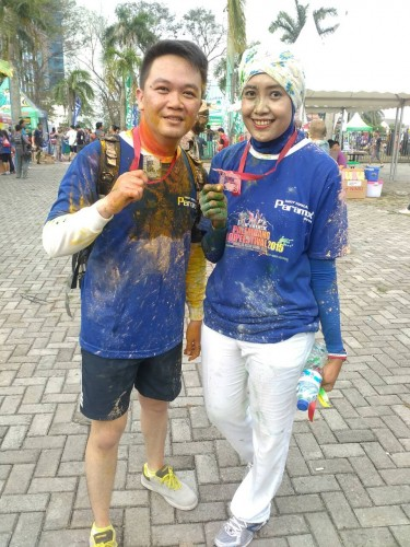 Fit and Fun Palembang Color Festival 2015