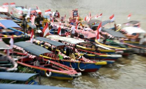 Semarak 17 Agustus di Palembang