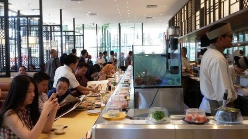 Sushi Tei di Palembang, A Good Deal of Sushi, Sushi Tei di Palembang, A Good Deal of Sushi, Jurnal Suzannita