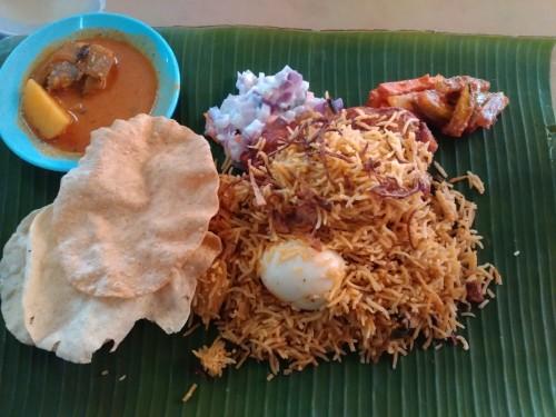 Nasi Daun Pisang (Banana Leaf Rice) Restoran Anuja, Nasi Daun Pisang (Banana Leaf Rice) Restoran Anuja, Jurnal Suzannita