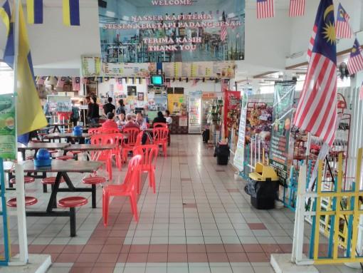 Kedai Makan di Padang Besar Station