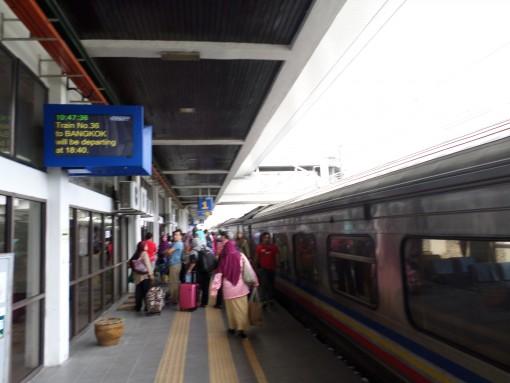 Kereta di Padang Besar Station