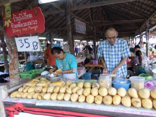 Pedagang Mango Sticky Rice