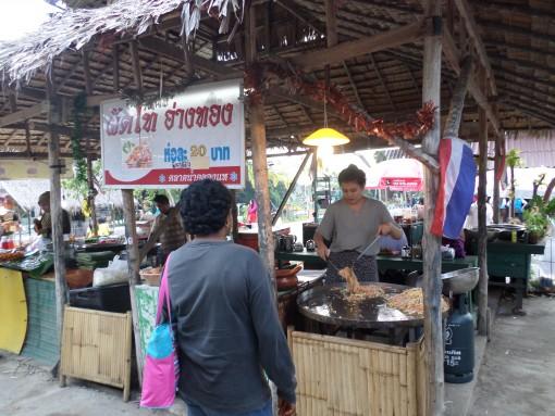 Pedagang Pad Thai