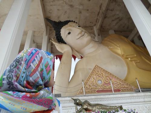 Wat Hat Yai Nai - Sleeping Budha