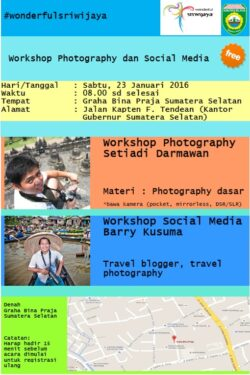 Workshop Photography dan Social Media, Workshop Photography dan Social Media, Jurnal Suzannita