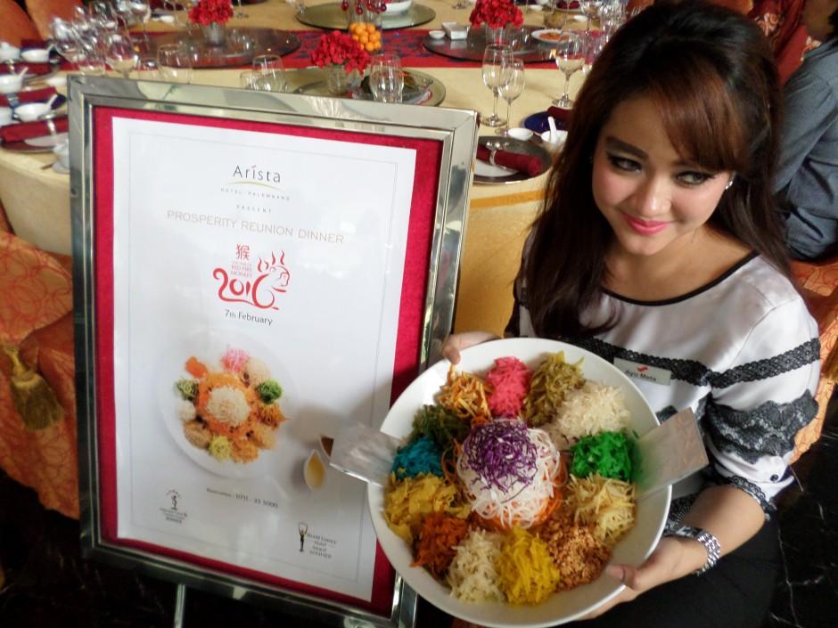 Rayakan Kemeriahan Imlek, Rayakan Kemeriahan Imlek di The Arista Hotel Palembang, Jurnal Suzannita