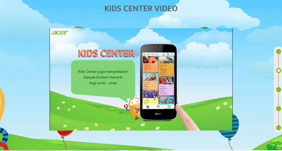 Kids Center ACER Liquid Z320, Kids Center ACER Liquid Z320, Anak Senang Orangtua Tenang, Jurnal Suzannita