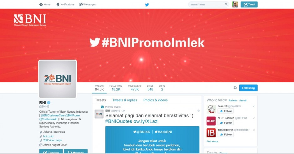 Follow BNI