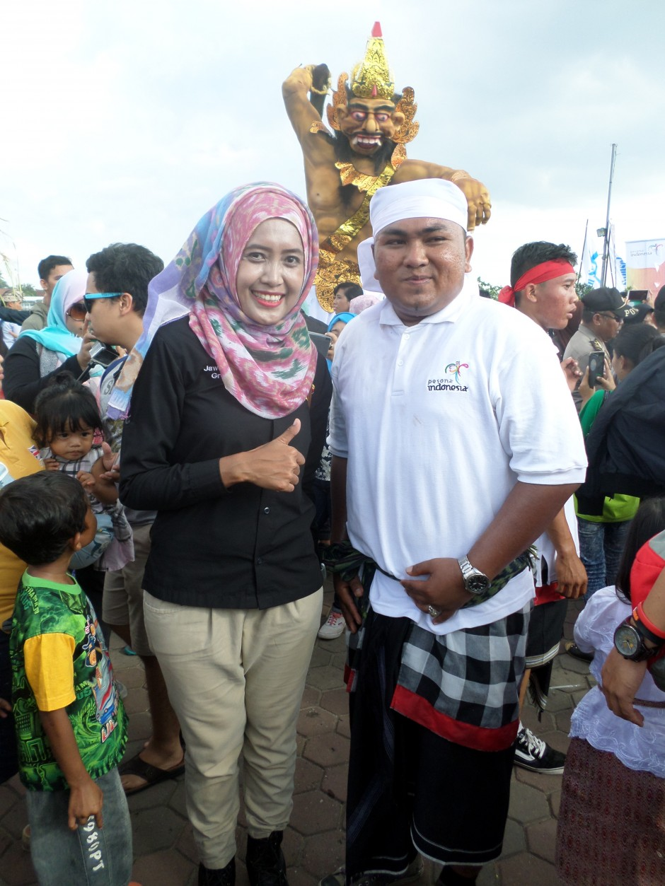 Parade Ogoh-Ogoh di Bumi Sriwijaya Serasa di Bali, Parade Ogoh-Ogoh di Bumi Sriwijaya Serasa di Bali, Jurnal Suzannita