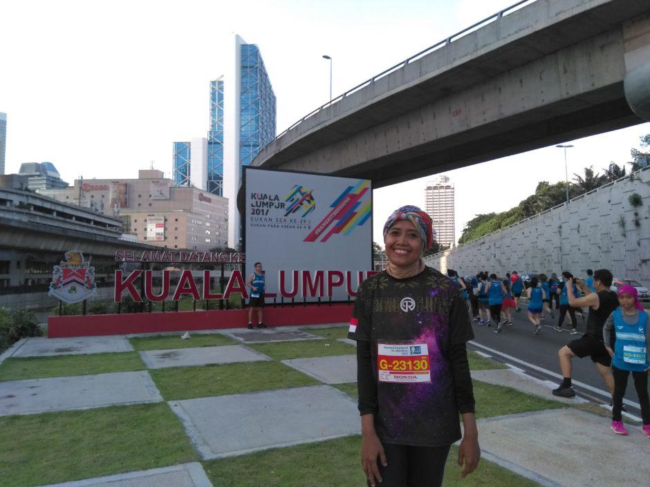 Standard Chartered KL Marathon, Standard Chartered KL Marathon 2017 Yang Penuh Cerita, Jurnal Suzannita