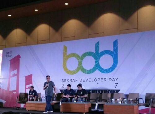 Bekraf Developer Day 2017 Palembang, Bekraf Developer Day 2017 Palembang, Jurnal Suzannita