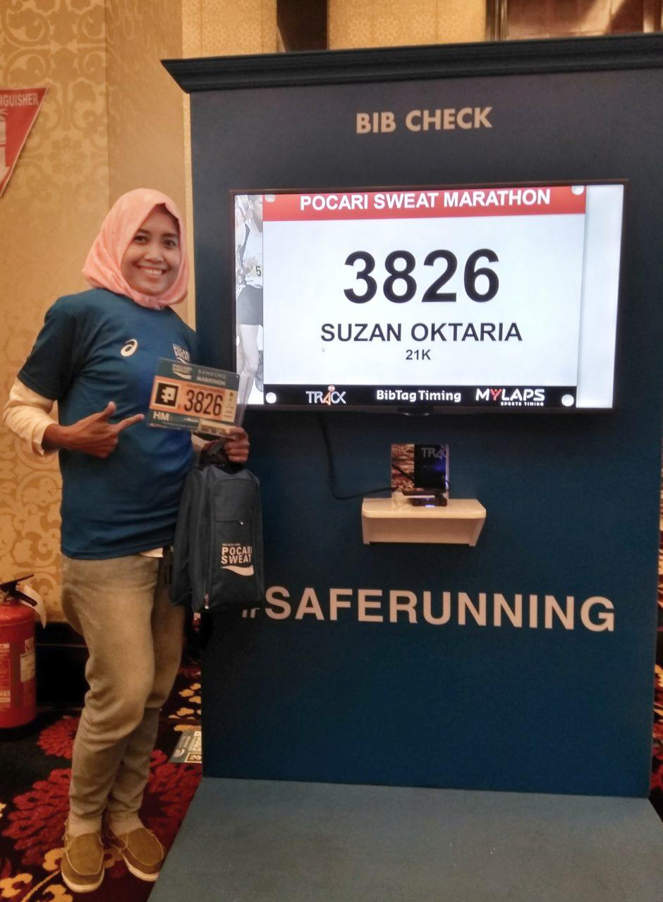Pocari Sweat Bandung West Java Marathon 2017, Pocari Sweat Bandung West Java Marathon 2017, Jurnal Suzannita