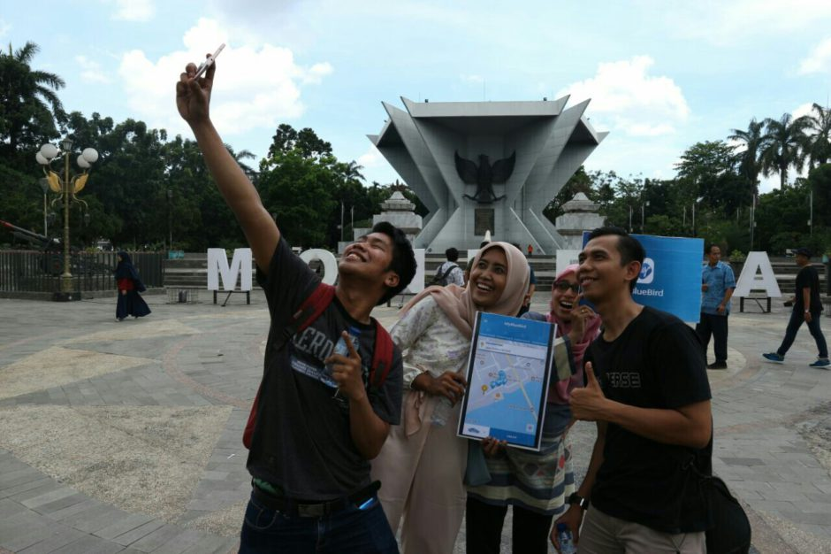 Jelajah Palembang dengan Aplikasi My Blue Bird, Jelajah Palembang dengan Aplikasi My Blue Bird, Jurnal Suzannita