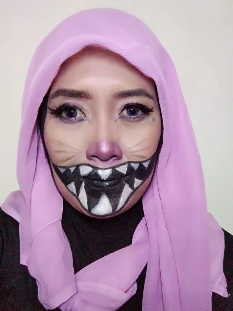 Cheshire Cat Makeup Look, Cheshire Cat Makeup Look : Halloween Makeup Collaboration with Beautiesquad, Jurnal Suzannita