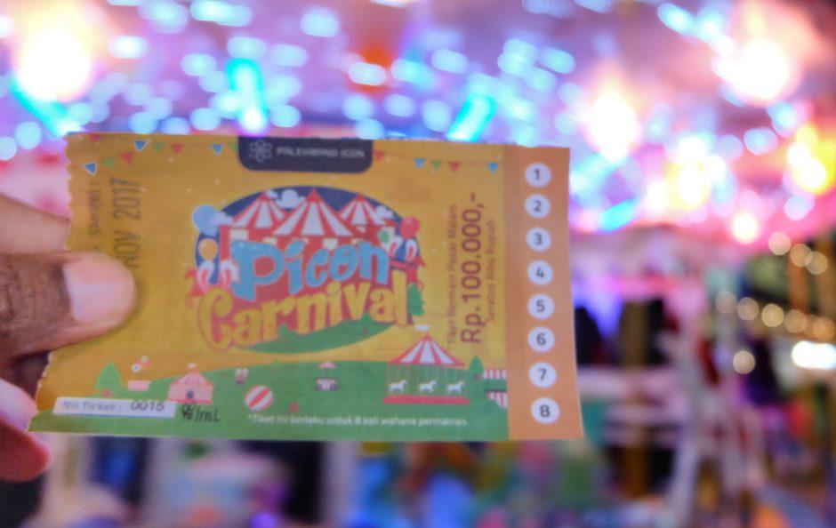 PIcon Carnival Pasar Malam Modern Nan Seru, PIcon Carnival Pasar Malam Modern Nan Seru, Jurnal Suzannita