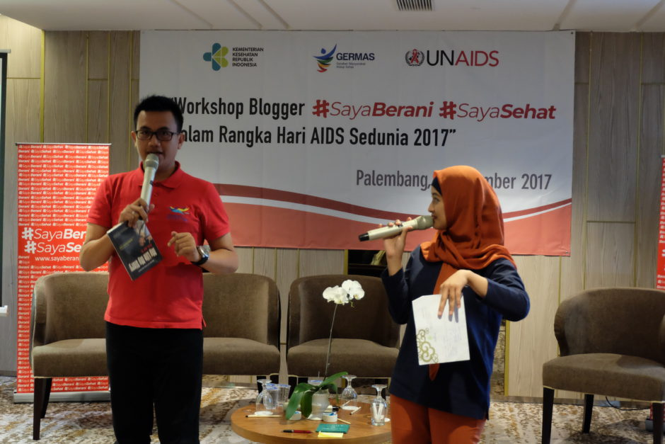 Hari AIDS Sedunia, Saya Berani Saya Sehat : Hari AIDS Sedunia 2017, Jurnal Suzannita