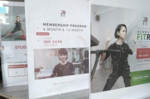 Promo di 20 Fit Palembang