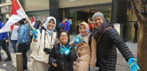 Tim Indonesia di Tokyo Marathon Week