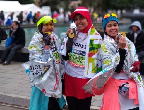 Ladies Tokyo Marathon Finisher