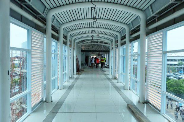 Sky Bridge Bandara SMB II Palembang Bagian Dalam