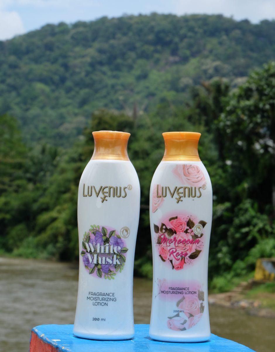 LUVENUS Fragrance Moisturizing Lotion, LUVENUS Fragrance Moisturizing Lotion | Review, Jurnal Suzannita