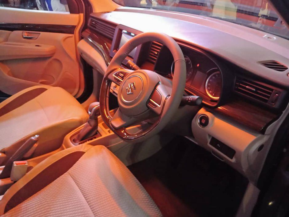 All New Ertiga Interior