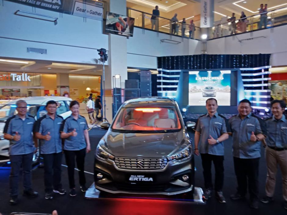 Grand Launching All New Ertiga Palembang