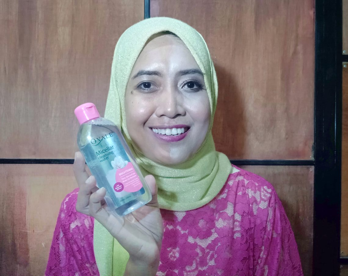 OVALE Micellar Cleansing Water, Ovale Micellar Water   Review, Jurnal Suzannita
