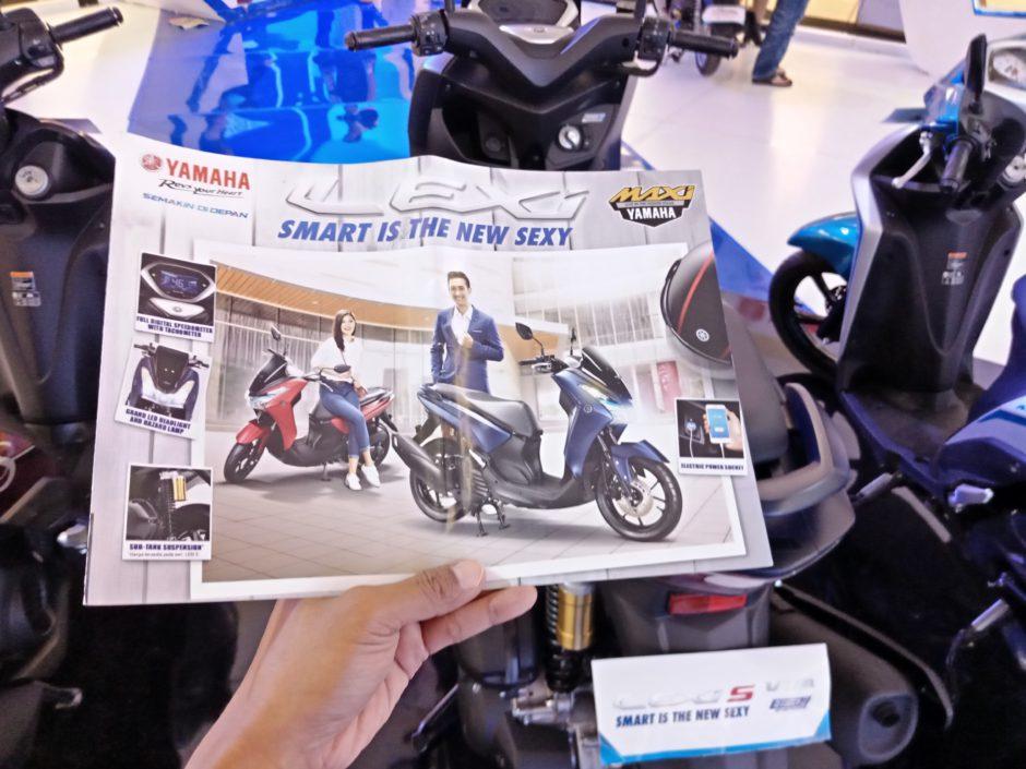 Yamaha Lexi Mencuri Perhatian di BYMS 2018, Yamaha Lexi Mencuri Perhatian di BYMS 2018, Jurnal Suzannita